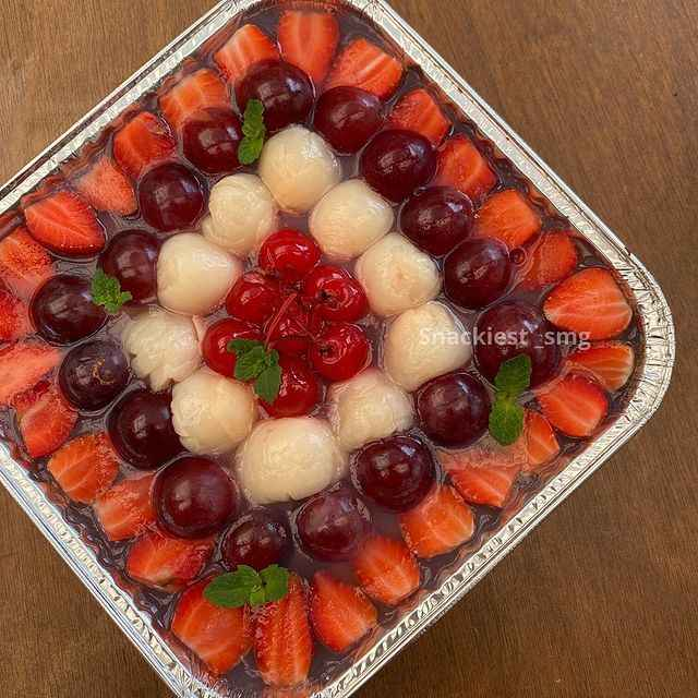 Assorted Fruit Pudding