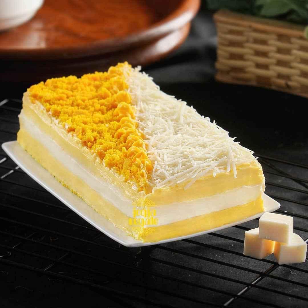 Cake Thiwul Kekinian varian Double Cheese Cream