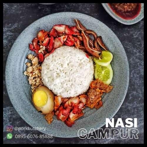 Nasi Campur Babi