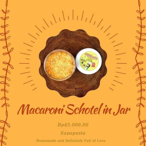 Macaroni Schotel in Jar