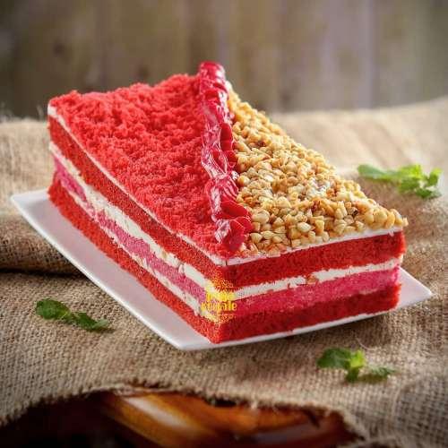 Cake Thiwul varian Red Velvet Nougat